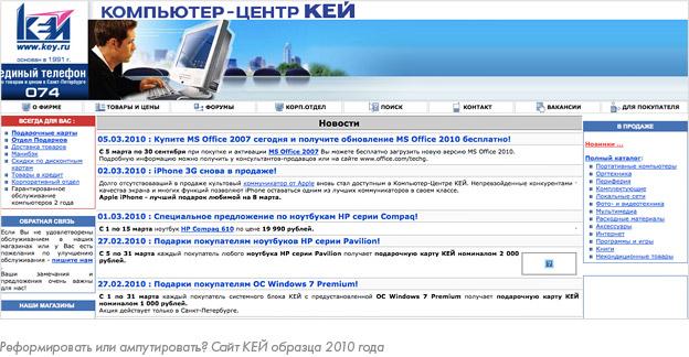 Интернет-магазин КЕЙ