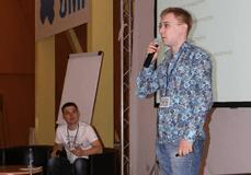 Фото выступления Андрея Терехова (Inforza) и Андрея Григорьева (UMI)